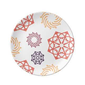 Elegant Ornaments Plate
