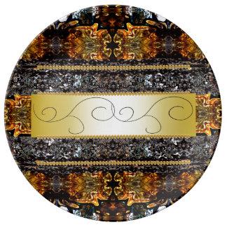 Elegant Ornate Fancy Dinnerware Regal CricketDiane Porcelain Plates