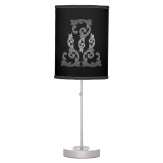 Elegant Ornate Goth Design Lamp