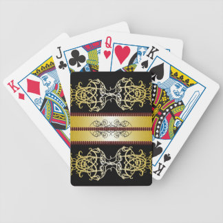 Elegant Ornate Steampunk Goth Games Gifts Bicycle Playing Cards