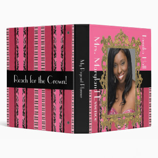 Elegant Pageant Planner/Notebook Binders
