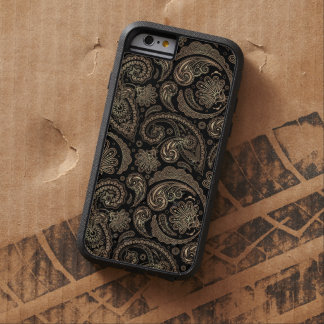 Elegant Paisley Vintage Damask Flowers Pattern Tough Xtreme iPhone 6 Case