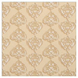 Elegant Pastel Damask Fabric