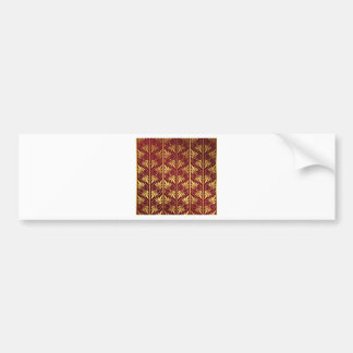 Elegant Pattern Bumper Sticker