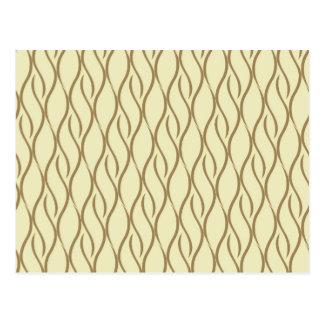 Elegant pattern postcard