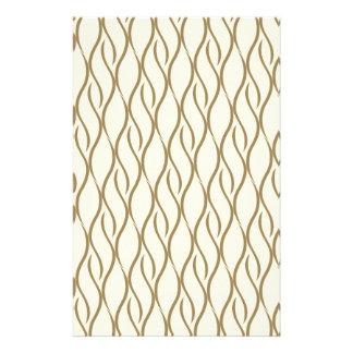 Elegant pattern stationery design