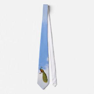 Elegant Peacock Art Animal Neck Tie