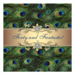 Elegant Peacock Birthday Party