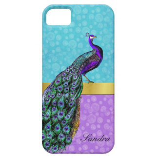 Elegant Peacock iPhone 5 Case