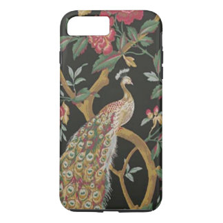 Elegant Peacock On Black iPhone 7 Case