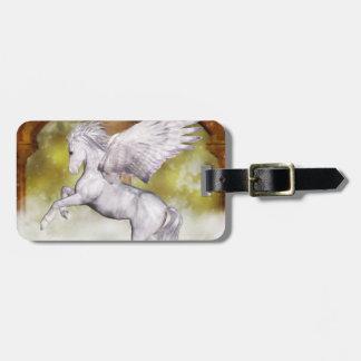 Elegant Pegasus Bag Tag