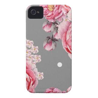 Elegant Peonies Floral iPhone 4 Case-Mate Case