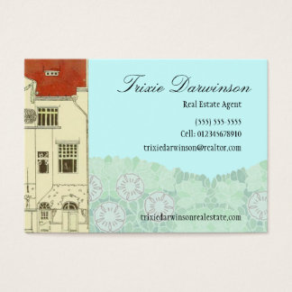 Elegant Period Home Business Card