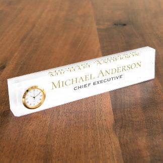 Elegant Personalized Desk NAME Plate Corporate