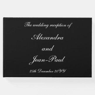 Elegant, Personalized Wedding Guest Book