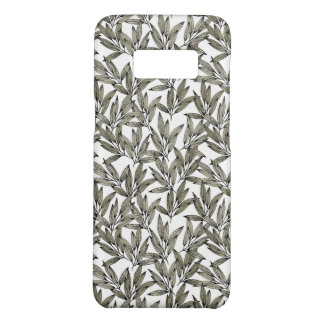 Elegant phone case with botanical print
