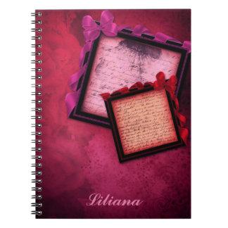Elegant Pink Notebook