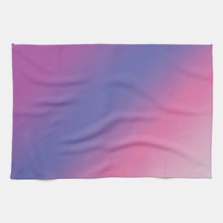 elegant pink purple blue ombre gradient colorful kitchen towel