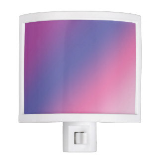 elegant pink purple blue ombre gradient colorful nite lite