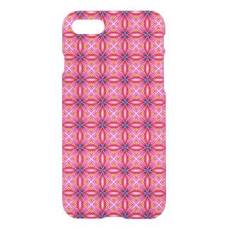 Elegant Pink Spider Flower Petals Pattern iPhone 7 Case