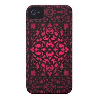 Elegant Pink Swirl Design Blackberry Bold Case