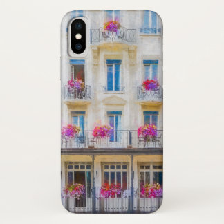 Elegant Pink Swiss Windows Floral Photography Case-Mate iPhone Case
