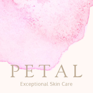 Skincare business cards profile cards zazzle ca elegant pink watercolor flower petal skin care spa square business card colourmoves