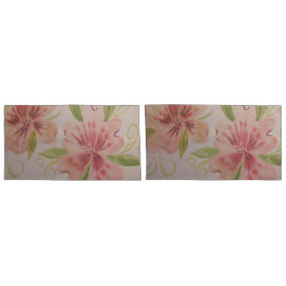 Elegant Pinks Pillowcase