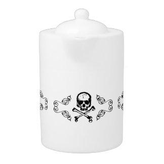 Elegant Poison Gothic Tea Set