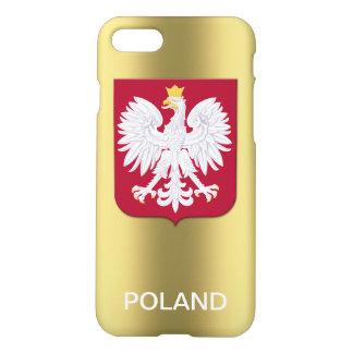Elegant Polish Eagle Red Shield iPhone 7 Case