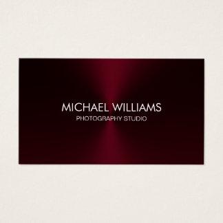 Elegant Professional Black Lawyer Red Brilliant Business Card