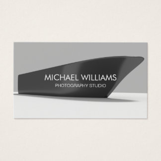 Elegant Professional Boat Boats Photographer Business Card