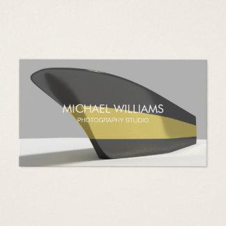 Elegant professional golden black boat business card