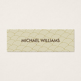 Elegant professional Japanese style paper Mini Business Card