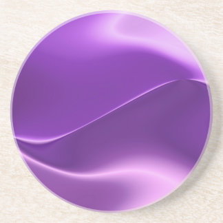 elegant purple coaster