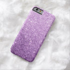 Elegant Purple Glitter Luxury iPhone 6 Case