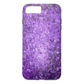 Elegant Purple Glitter & Sparkles iPhone 8 Plus/7 Plus Case