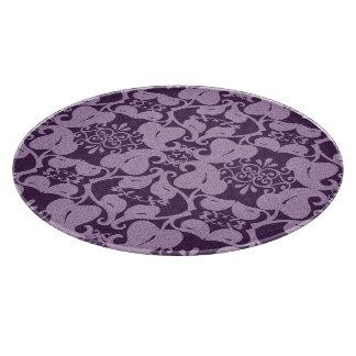 Elegant Purple Pattern Boards