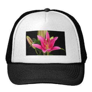 Elegant Purple Pink Flower Floral Gifts Template Trucker Hat