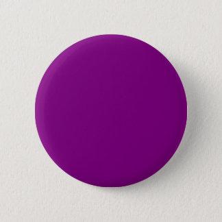 Elegant Purple Solid Color. Fashion Color Trending 2 Inch Round Button