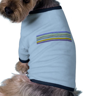 Elegant Purple Stripe Pattern Dog Clothes