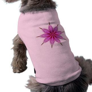 Elegant Radiant Orchid Kaleidoscope Pet T Shirt