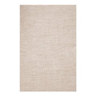 Elegant Raw Linen Minimalistic Stationery