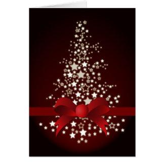 elegant red festive Corporate Christmas Cards