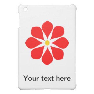 Elegant Red Flower iPad Mini Cases