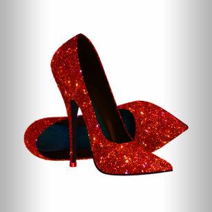 79153f36518c Elegant Red High Heel Shoe Stickers