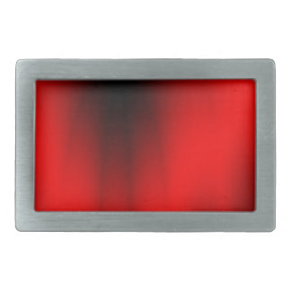 Elegant Red Splash Rectangular Belt Buckles