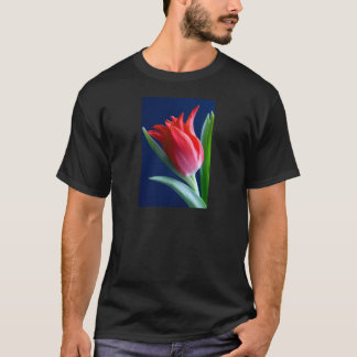Elegant red tulip T-Shirt
