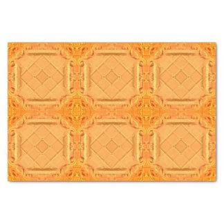 Elegant RedGold Faux Foil Tissue Paper