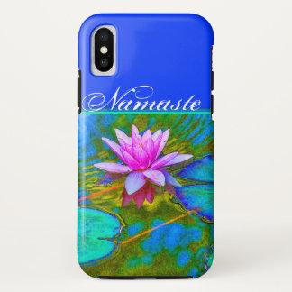 Elegant Reflections Namaste Yoga Lotus iPhone X Case